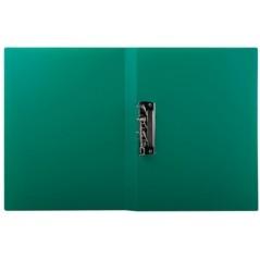 Папка с прижимом цвет зеленый