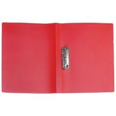 Папка с прижимом цвет красный