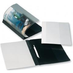 Скоросшиватель пластиковый с прозрачным верхом. Bantex 3200