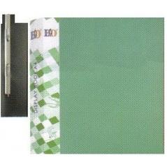 Папка скоросшиватель зелёный  0,50 мм.
