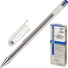 Ручка гелевая. Синяя. Толщина 0,5. Crown HJR-500  Корея