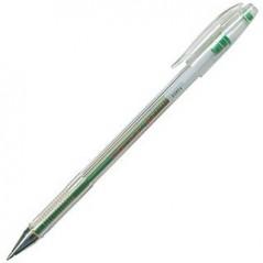 Ручка гелевая, зеленая. Толщина 0,5. Crown HJR-500  Корея