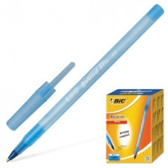 Ручка шарик. BIC ROUND STIC 0,40 мм синяя