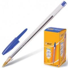 Ручка шарик. BIC CRISTAL синяя