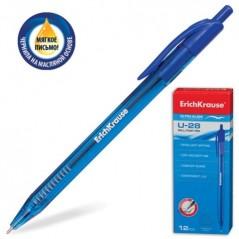 Ручка шариковая автоматичесаая синяя Erih Krause U28