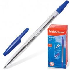 Ручка шариковая 301 синяя Эрих Краузе Erich Krause