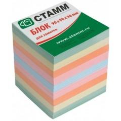 Бумага для записи цветная  9*9*9