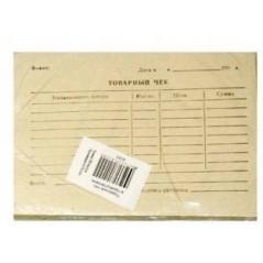 Товарный чек серый 100 листов