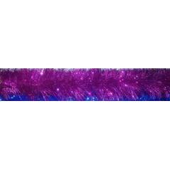 Мишура 3 метра , цвет розовый  объём 15см