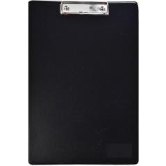 Папка планшет А4 цв.черный. ПВХ+картон.