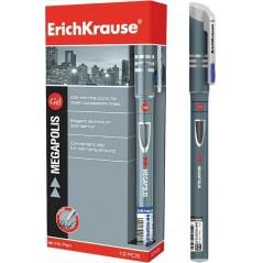 Ручка гелевая ERICH KRAUSE «MEGAPOLIS GEL», 0,5 мм, синяя