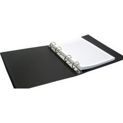 Тетрадь блочная черная, А-5, 2 блока
