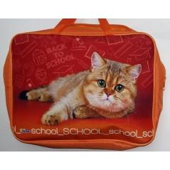 Папка менеджера А4. ПМД 2-20  School cat