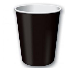 Бумажный стакан Черный 250мл