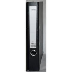 Папка регистратор с арочным механизмом  50 мм ламинат черного цвета