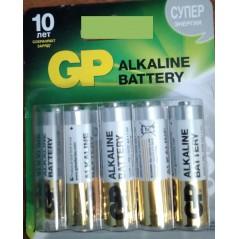 Батарейки  ААА GP ALKALINE 10 шт.