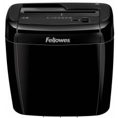 Уничтожитель документов Fellowes FS-47003 36C, 4 ур. секр. 4x40мм, 6 лист, 12л, скрепки, скобы, карты