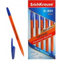 Ручка шариковая Erich Krause R-301 Orange Stick 0,7