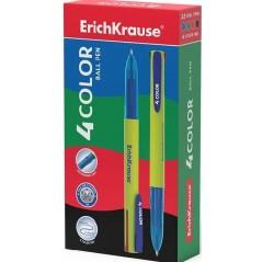 Ручка шариковая автоматическая ErichKrause 4 COLOR