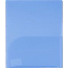 Папка уголок, 2 кармана, синий, ф.-А4