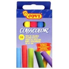 """Мелки classcolor цветные 10 шт. в коробочке. """"Jovi"""" Джови. Испания"""