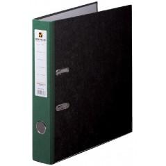 Папка-регистратор Brauberg с мраморным покрытием, 50мм, зеленный корешок