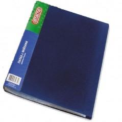 Папка с 40 файлами Attache синяя