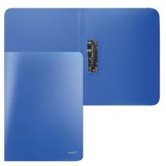 Папка с прижимом, цвет синий,Proff