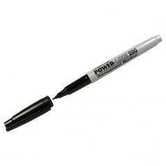 Маркер перманентный цвет: черный толщина : 2 мм. PER-200F . Корея